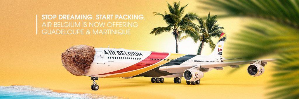 Air Belgium débarque en Martinique et Guadeloupe