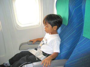 Enfants avion